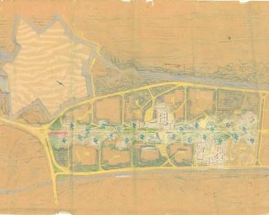 Egle Trincanato, Quartiere INA-Casa a San Giuliano, Mestre.