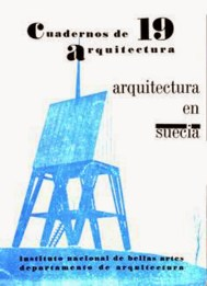 Cuadernos de Arquitectura Nº 19, INBA