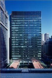 Natalie De Blois. Lever House, Park Avenue, New York