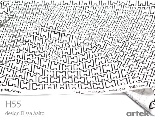Elissa Aalto, Diseño textil H55