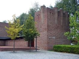Estudio Exner, Iglesia Islev, Roedovre, Dinamarca,1968-69