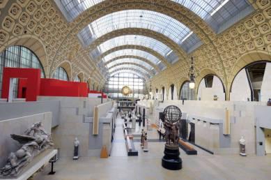 Gae Aulenti, Remodelación el Museo d'Orsay, París. 1986
