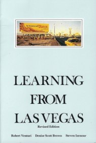Robert Venturi, Denise Scott Brown, Steven Izanour, Learning from Las Vegas