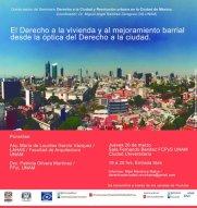 Lourdes García Vázquez, El derecho a la vivienda y al mejoramiento barrial
