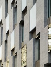 Grafton Architects: Yvonne Farrell, Shelley McNamara; Oficinas Departamento de Finanzas en Merrion Row Dublin, 2009