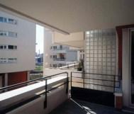 Édith Girard. Vista desde Logia. 55-60 rue des Vignoles, ZAC de la Réunion, Paris 20e, Francia, 1996