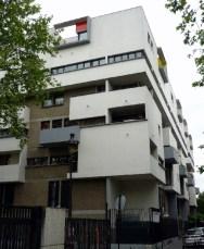 Édith Girard. Vivienda Social, 64 quai de Loire, Paris 19e, Francia 1985.