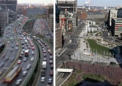 Gustafson Guthrie Nichol; North End Parks sobre la autopista I-93, Boston, 2007