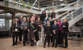 Mujeres arquitectas miembros del AIA