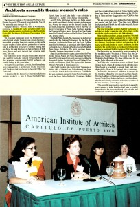 Beatriz del Cueto, Elizabeht Plater-Ziberk, Maya Lin, Ann Beha, Women's Roles in Architecture, 1991