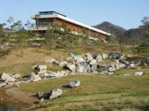 Francine Houben. Mecanoo. Whistling Rock Golf Clubhouse. Korea del Sur