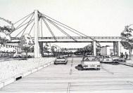Clara De Buen Richkarday. Metro Línea A. Puentes vehiculares. 1985-91