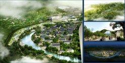 Concurso internacional de consolidación urbana, 2011- Plan Maestro para la nueva ciudad de Nansha, Guangzhou, China.