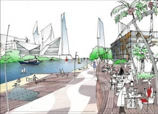 Master plan for Cheng Qiao New Town, Shangai, 2003