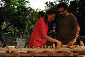Mónica Bertolino y Germán Valenzuela, workshop