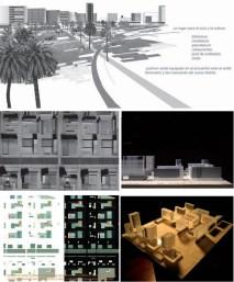 María Rubert de Ventós; Estudio urbanístico para la redacción del Plan Parcial del sector del Hondon, Cartagena.