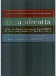 Verena Andreatta. Atlas Andreatta. Rio de Janeiro. Portada.2008.
