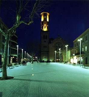 Isabel Bennasar, Plaça de la vila, Sant Feliu, 1999