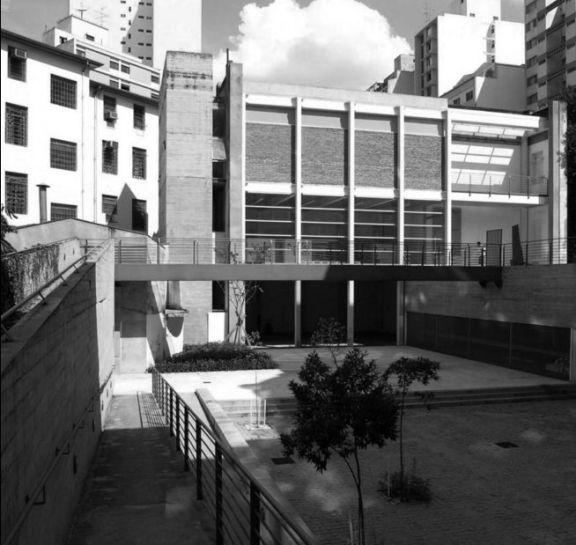 Fernanda Barbara y Cristiane Muniz. Una Arquitetos. Centro Universitário Maria Antonia