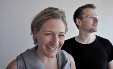 Barbara Frei con Martin Saarinen, titulares de FSA, Zurich, Suiza.