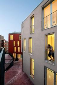 Pilar Calderon, Calderon-Folch-Sarsanedas Arquitectes, 21 Viviendas públicas en Sant Llorenç Savall