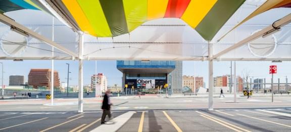 Pilar Calderon, Calderon-Folch-Sarsanedas Arquitectes, Pabellón abierto, Barcelona