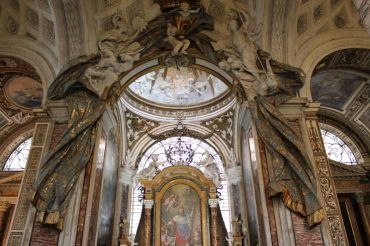 Plautilla Bricci, Capilla de San Luis de los Franceses, Roma