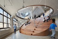 Amale Andraos, Work Architecture Company, oficinas de Wieden+Kennedy