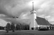 Elsi Borg, iglesia de Teuva, Finlandia, 1953
