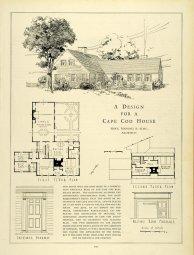 Howe, Manning & Almy. Casa en Cabo Cod. Publicación en revista