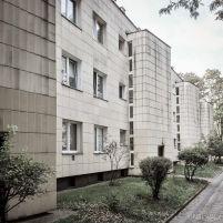 Helena y Szymon Syrkus, Conjunto de viviendas en Kolo para la WSM, Varsovia, 1948-1954. Imagen actual