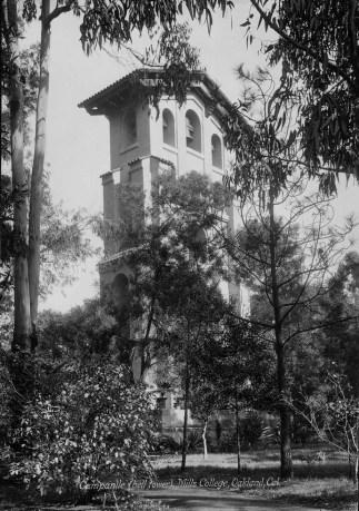 Julia Morgan, El Campanil, Mills College. 1904