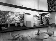 """Clara Porset, Exposición """"El arte en la vida diaria"""" en Museo de Bellas Artes, 1952"""