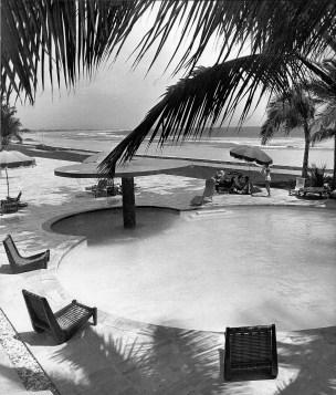 Clara Porset, Acapulco Hotel Pierre Marqués, 1957