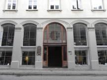R. Grubb y C. Laursen: Edificio en el núm. 38 de Skindergrade (Proy. de Remodelación de 1950). Estado actual