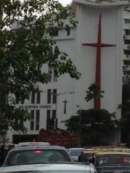 Perin Mistri, Iglesia de St. Stephen, Bombay