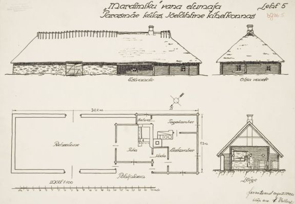 Erika Nõva (1926): Estudio de una granja tradicional estona.