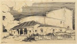 Lutah Maria Riggs, Dibujo Teatro Lobero