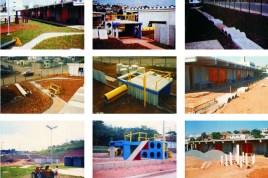 Mayumi Watanabe, equipamientos producidos por el Cedec para áreas exteriores en escuelas.
