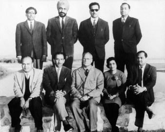 El equipo de arquitectos y urbanistas indios de Chandigarh