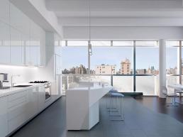 Lise Anne Couture, cocina del 166 Perry Street Condominium, Nueva York (2010)