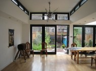 Carolina Aivars, House extension, Clapham, London. 2012