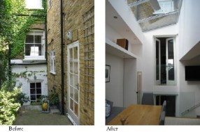 Carolina Aivars, Terrace House, Extension, Clapham, London.2012