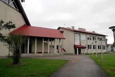 Maarja Nummert (1987): Escuela Secundaria de Norarootsi. Vista exterior, año 2008