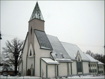 Maarja Nummert (1988): Iglesia Baptista de Salem en Tartu