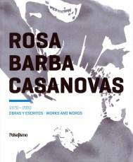 """Portada del libro """"Rosa Barba Casanovas 1970-2000. Obras y escritos"""". Ed. Asflor. 2010."""