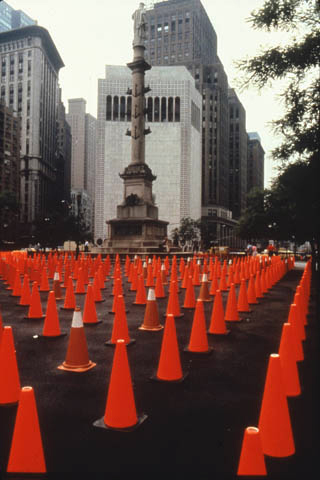 Elizabeth Diller, Diller Scofidio, Columbus Circle, Nueva York, 1981