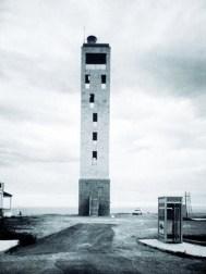 Blanca Lleó (1989-91): Faro de Nules, Castellón. Vista fachada oeste.