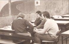 Maria Alice Junqueira Bastos con Prof. Eduardo de Almeida y Miriam Andraus Pappalardo
