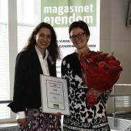 Mette Kynne Frandsen, entrega del Rol Femenino del Año
